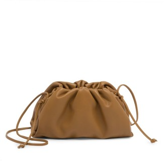 Bottega Veneta Small The Pouch Leather Clutch
