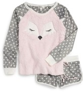 PJ Salvage Girl's Two-Piece Pajamas