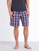 Derek Rose Barker cotton pyjama shorts