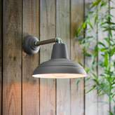 Graham and Green Southwark Outdoor Wall Light In Charcoal