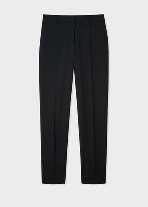 Paul Smith A Suit To Travel In - Women's Classic-Fit Dark Green Wool Pants