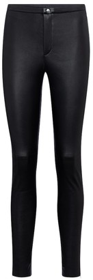 STOULS Maggie high-rise skinny leather pants