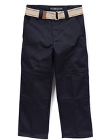U.S. Polo Assn. Navy Pants & Belt - Boys