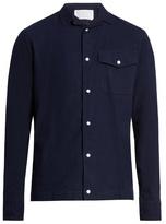 Kolor Patch-pocket cotton shirt