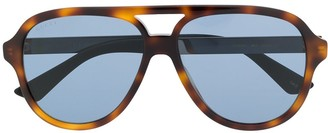 Gucci GG0688S aviator-frame sunglasses
