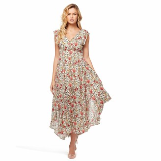 Jessica Simpson Women's Gabbie Pretty Flowy Maxi Dress