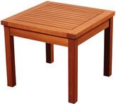 International Home Miami Amazonia Kingsbury Eucalyptus Side Table