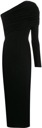 Alexandre Vauthier One-Shoulder Long Dress