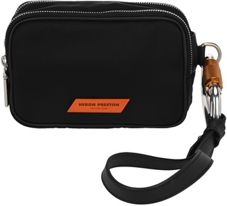Heron Preston Logo Patch Clutch Bag