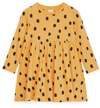 Arket Gathered Jersey Dress