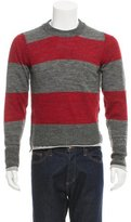 Dolce & Gabbana Striped Crew Neck Sweater