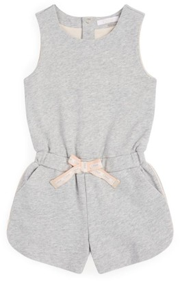 Chloé Kids Logo Belt Playsuit (2-14 Years)