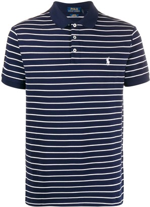 Polo Ralph Lauren Striped Print Polo Shirt