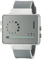 Nooka Unisex ZIRCVMR Digital Display Quartz Grey Watch