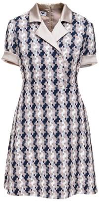Morgan Diana Arno Tweed Mini Dress