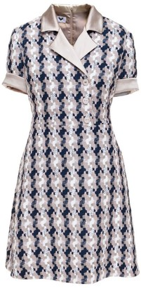 Morgan Tweed Mini Dress