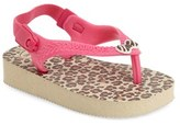 Havaianas Infant Girl's 'Baby Chic' Flip Flop