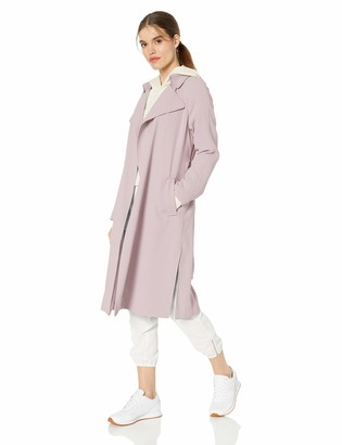 KENDALL + KYLIE Women's Long Trench Coat