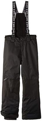 Kamik Stout Pants (Toddler/Little Kids/Big Kids) (Black) Kid's Casual Pants
