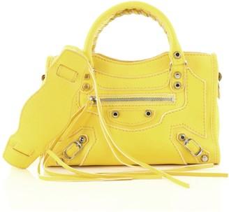 Balenciaga City Classic Studs Highlight Bag Leather Mini