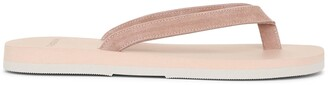 The Resort Co Dusty pink sude sandals