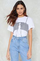 Nasty Gal Sittin' On Top of the World Layered Tee