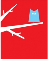 Pin It Hybrid-Home Limited Edition Print - Friend Owl