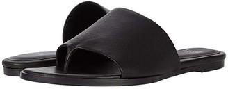 Eileen Fisher Edge (Black Leather 1) Women's Slide Shoes