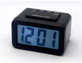 LCD Table Clock Colour: Black
