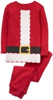 Crazy 8 Santa 2-Piece Pajama Set