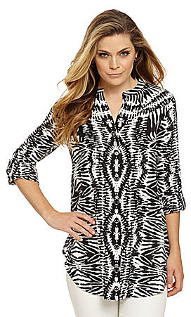 Vince Camuto Tribal Impression Tunic