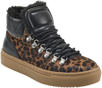 Marc Fisher Daisie Faux Shearling Sneaker Boot