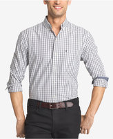 Izod Men's Check Long-Sleeve Shirt
