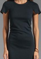 Sonia Rykiel SONIA by Light Jersey Short Sleeve Dress