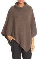 Joie Women's 'Haesel C' Tweed Cashmere Turtleneck Poncho