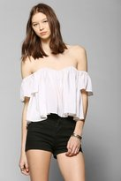 Stone Cold Fox Holy Tube Cropped Top