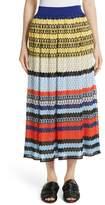 Missoni Women's Stripe Knit Midi Skirt