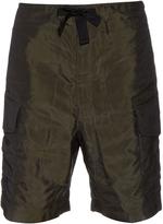 Paul Smith Patch-pocket nylon shorts