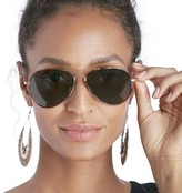 Sole Society Savanna Basic Aviator Sunglasses