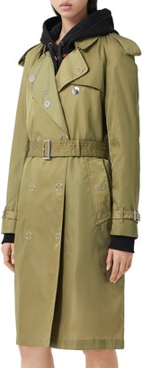Burberry Oban Double Breasted Trench Raincoat