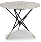 Bronx Oswesty Bistro Table Ivy Color: White
