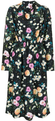 Stine Goya Jay floral print midi dress