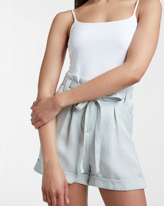 Express Silky Double Layer Scoop Neck Cami
