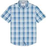 Original Penguin Classic Fit Indigo Plaid Shirt