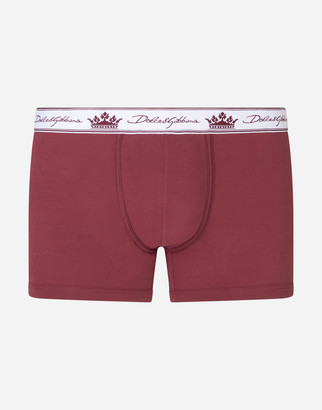 Dolce & Gabbana Stretch Pima Cotton Boxers