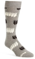Happy Socks Men's Optic Print Socks