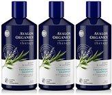 Avalon Shampoo, Biotin B-Complex, Thickening, 14-Ounces (Pack of 3)