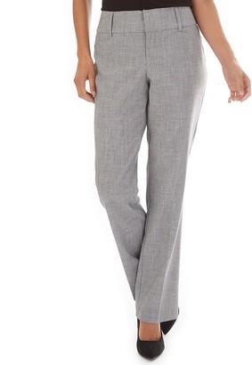 Apt. 9 Women's Magic Waist Tummy Control Bootcut Dress Pants