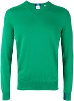 Paul Smith V-neck jumper - men - Cotton - S