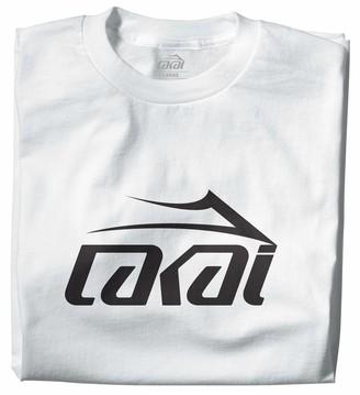 Lakai Unisex-Adult's Basic TEE WhiteSize XL